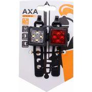 Axa led lamp voor+achter niteline 44 op kaart