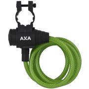 Axa oprolslot zipp groen 120cm/8mm met framehouder