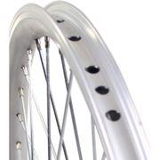 Roland achterwiel 24 x 1.75 remnaaf Alu V-profil zilver