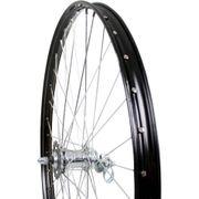 achterwiel28x 1 1/2 zwart Velosteel