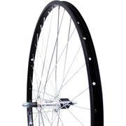 achterwiel28 cass vast 7v aluminium zwart