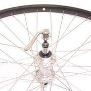 achterwiel28 freewheel uitval aluminium zwart