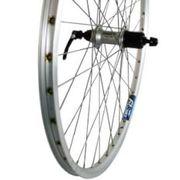 achterwiel28 Deore 9v RVS ZAC19 zilver