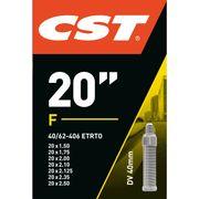 Binnenband 20x1.75 (40/62-406) DV 40mm 070702 CST