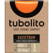 Tubolito binnenband City Tour 700c 30 - 47mm fv 42mm