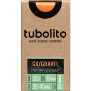 Tubolito binnenband Tubo-CX-Gravel-700C-SV60