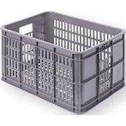 Fietskrat Basil Crate small 25 liter - grijs