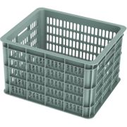 Fietskrat Basil Crate medium 33 liter - seagrass
