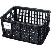 Fietskrat Basil Crate small 25 liter - zwart
