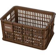 Fietskrat Crate small 25 liter - saddle brown