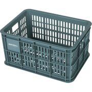 Fietskrat Basil Crate small 25 liter - seagrass