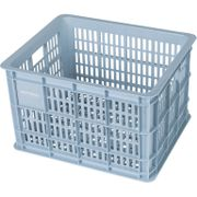 Fietskrat Crate medium 33 liter - silver cloud