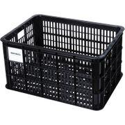 Fietskrat Basil Crate large 50 liter - zwart