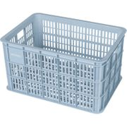 Fietskrat Crate large 50 liter - Silver Cloud