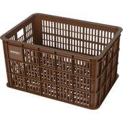 Fietskrat Crate large 50 liter - Saddle Brown