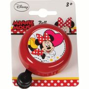 Widek kinderbel Minnie Mouse rood op kaart