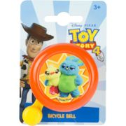 Widek kinderbel Toy Story 4 oranje op kaart