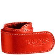 Brooks broekklem leer rood
