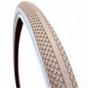 Cortina buitenband Canberra 28 x 1.75 khaki/wit refl