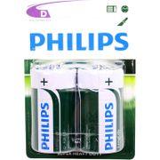 Philips batt R20 1,5V krt (2)