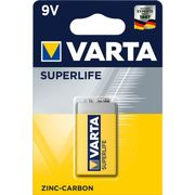 BATT VARTA BLOK 9V 6F22 SUPERLIFE