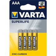 Varta batterij superlife aaa r03 blister (4)