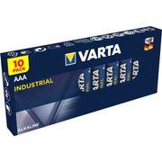 Varta batterij industrial aaa lr03 tray (10)