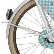 lief! achterspatbord stang 26 m wit