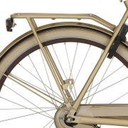 Cortina drager U5 D50 mat goud