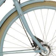 Cortina voorvork 28 U1 D rb pastel turquoise