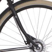 Cortina voorvork U1 D black matt
