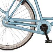 Cortina kettingkast 28 Fluente matt sleepy blue