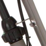 Cortina balhoofd beugel voordrager 28 H65 quarz grey matt