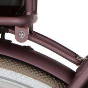 Cortina achterdrager bracket 170mm Bafang spicy silver matt