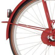 Cortina achterspatbord stang 28 U4 true red matt