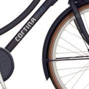 Cortina voorspatbord 28 E-U4 dark grey matt
