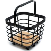 Cortina Montreal Basket Metal square Black Matt
