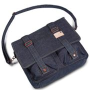 Cortina Kansas Messenger Bag Denim