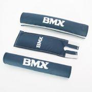 cross BMX padset blauw