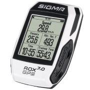 Sigma fietscomputer Rox 7.0 GPS wit
