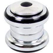 Ergotec balhoofd set Ahead 1.1/8 zilver