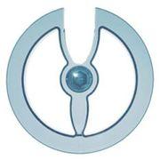 Hebie chain disc 42/44t transp blauw