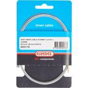 Elvedes schakel binnenkabel SA 2 nippels 2.5x10 en 4.5x4.5