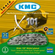Ketting 1/2 x 1/8 x101 112l zilver singlespeed