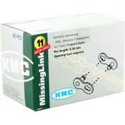 ds KMC missinglink 11 Pro zilver