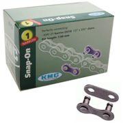 Kmc kettingschakel singlespeed snap on narrow 3/32