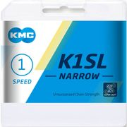 Kmc ketting singlespeed k1sl 100 links narrow zilv