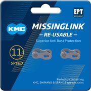 Kmc kettingschakel missinglink 11r ept zilver (2)