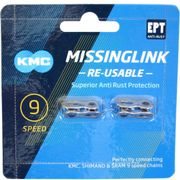 Kmc kettingschakel missinglink 9r ept zilver (2)