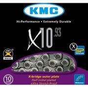 Kmc ketting 11/128 x10-93 zilver/grijs 10speed